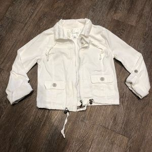 White size small Maurice's jacket